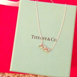Tiffany & Co xoxo necklace